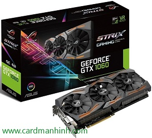 ASUS GTX 1060 ROG STRIX GAMING 6GB GDDr5
