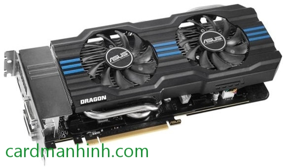 Card màn hình ASUS GeForce GTX 660 Dragon Edition