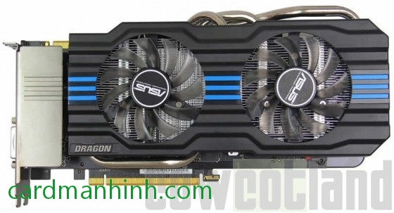 Card màn hình ASUS GeForce GTX 660 Ti Dragon