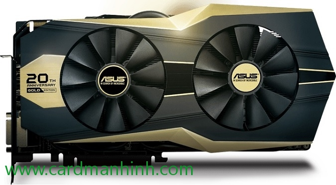 Card màn hình ASUS GeForce GTX 980 Ti 20th Anniversary Gold Edition