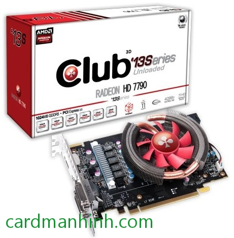 Card màn hình Club3D Radeon HD 7790 '13Series