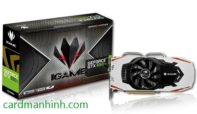 Card màn hình Colorful GeForce GTX 650 Ti