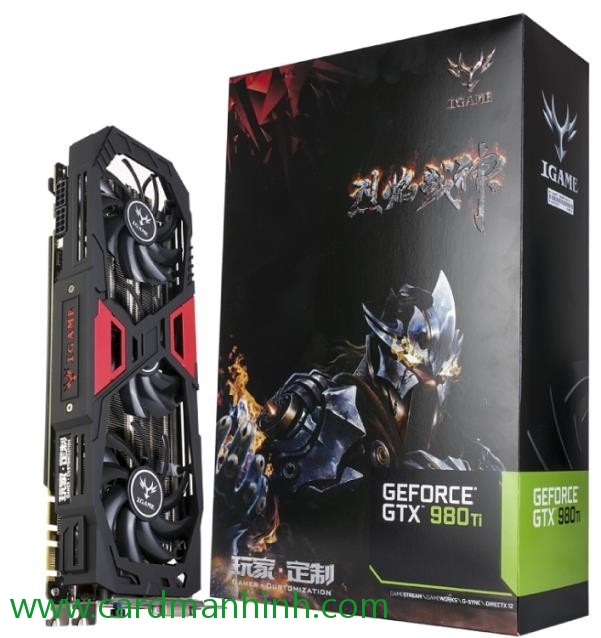 Card màn hình Colorful GeForce GTX 980 Ti iGame Ymir-X