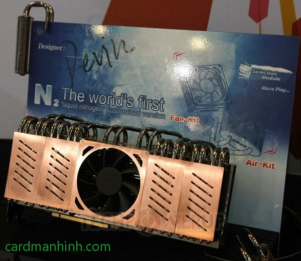 Card màn hinh Colorful GTX 680 Liquid Nitrogen