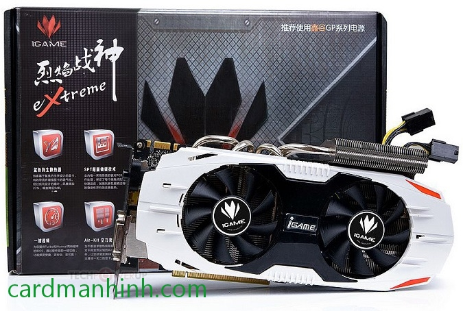 Card màn hình Colorful iGame GTX 650 Ti Boost