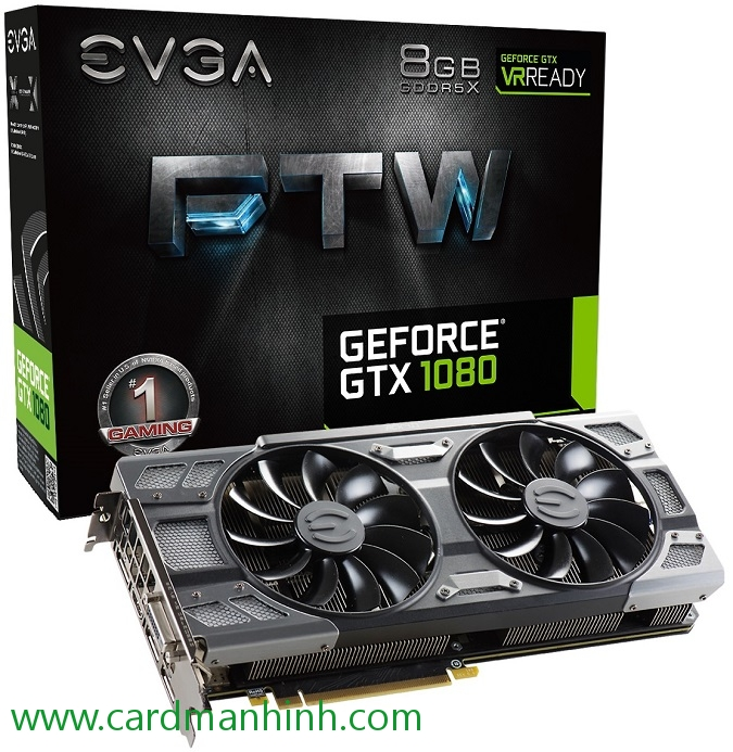Card màn hình EVGA GeForce GTX 1080 FTW GAMING ACX 3.0