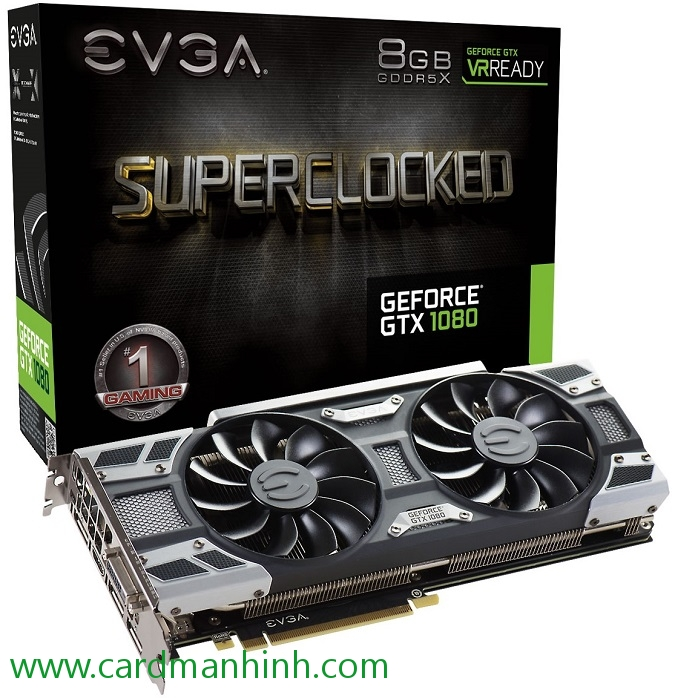 Card màn hình EVGA GeForce GTX 1080 SC GAMING ACX 3.0