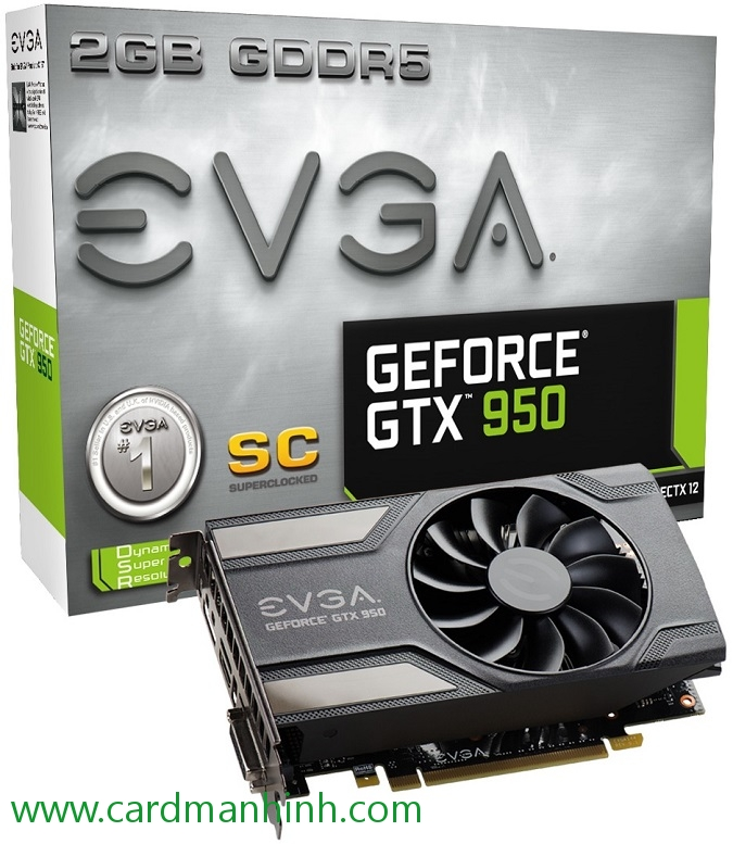 Card màn hình EVGA GeForce GTX 950 Low Power