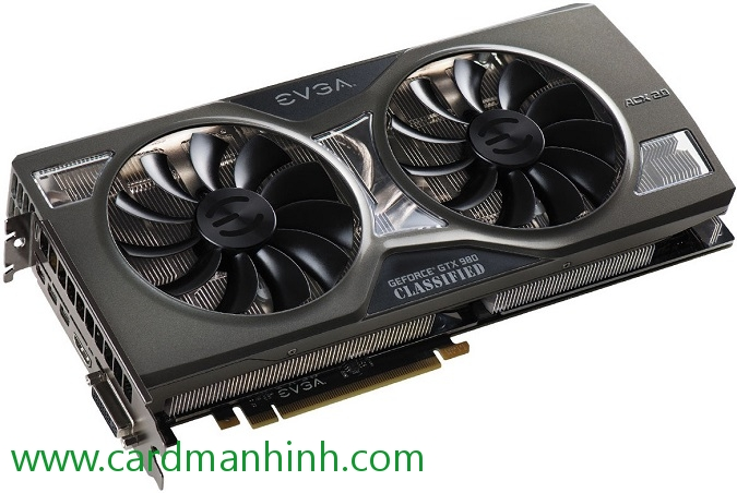 Card màn hình EVGA GeForce GTX 980 KIngpIn Edition