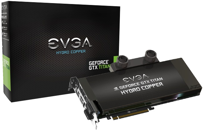 Card màn hình EVGA GeForce GTX Titan Hydro Copper