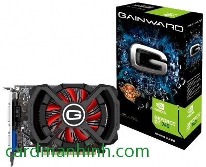 Card màn hình Gainward GeForce GT 740 full-size