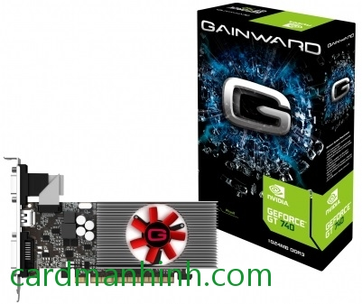 Card màn hình Gainward GeForce GT 740 low-profile