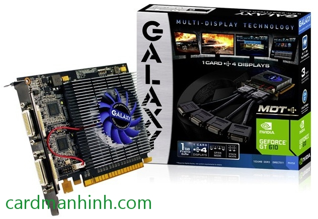 Card màn hình Galaxy GeForce GT 610 MDT