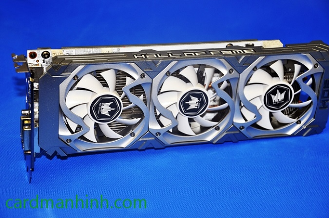 Card màn hình Galaxy GeForce GTX 750 Ti Hall of Fame