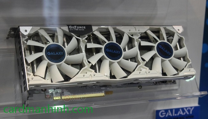 Card màn hình Galaxy GeForce GTX 770 SOC