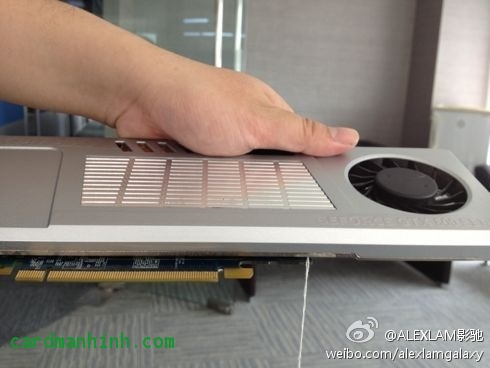 Card màn hình GeForce GTX 680 Warriors' Edition single slot từ Galaxy