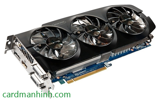 Card màn hình Gigabyte GeForce GTX 660 Ti 3GB WindForce 3X