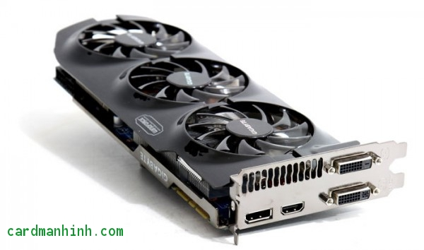 Card màn hình GIGABYTE GeForce GTX 680 WindForce 3X OC