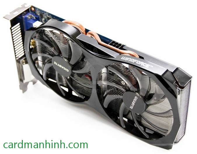 Card màn hình Gigabyte GTX 650 Ti 2GB Windforce 2X