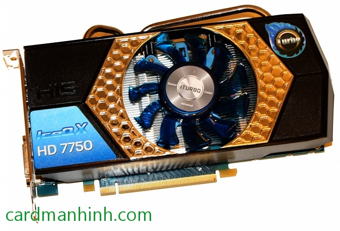 Card màn hình HIS Radeon HD 7750 1GB IceQ X Turbo