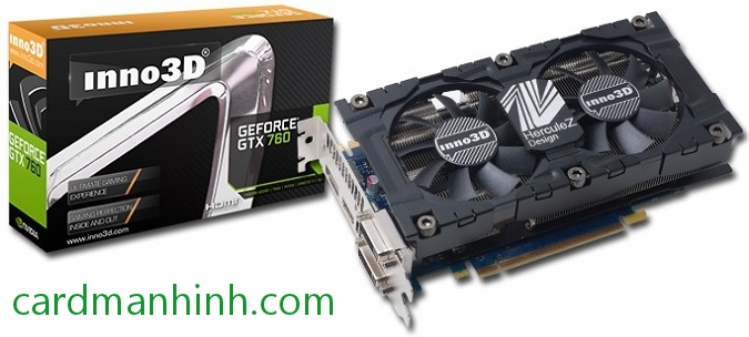 Inno3D GeForce GTX 760 HerculeZ OC 2 GB