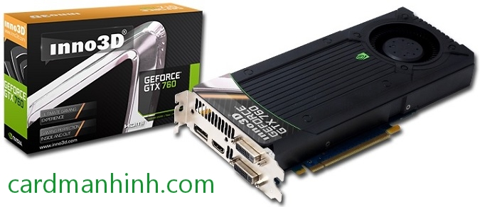 Inno3D GeForce GTX 760 reference