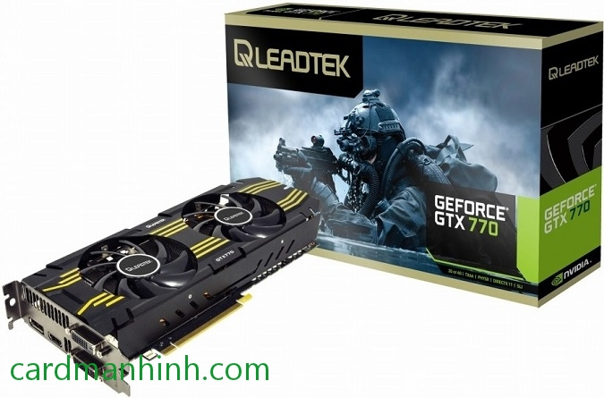 Card màn hình Leadtek GeForce GTX 770 Hurricane III