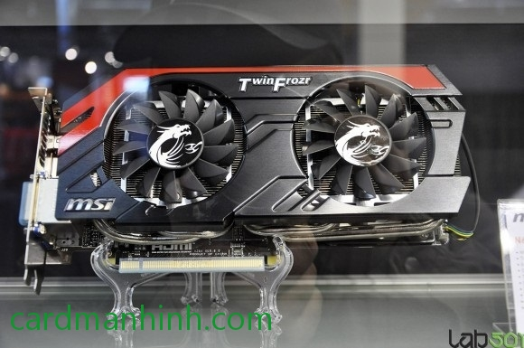 Card màn hình MSI GeForce GTX 660 Ti Gaming Edition
