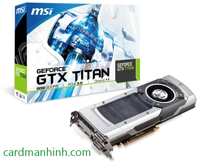 MSI GeForce GTX Titan