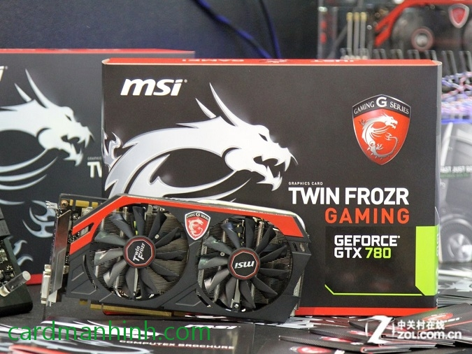 Card màn hình MSI GTX 780 Twin Frozr Gaming OC