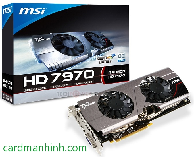 Card màn hình MSI Radeon HD 7970 TwinFrozr III Boost Edition