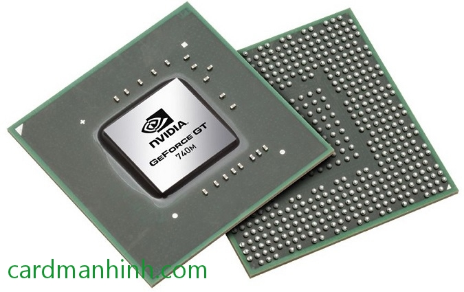 GPU NVIDIA GeForce GT 740M