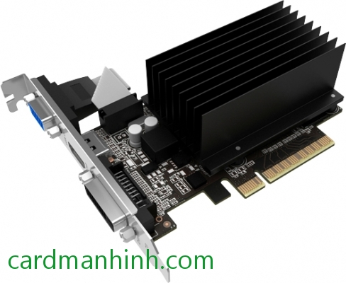 Card màn hình Palit GeForce GT 730 2GB GDDr3 64bit no-fan 2slot