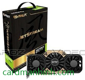 Card màn hình Palit GeForce GTX 770 JetStream 2GB