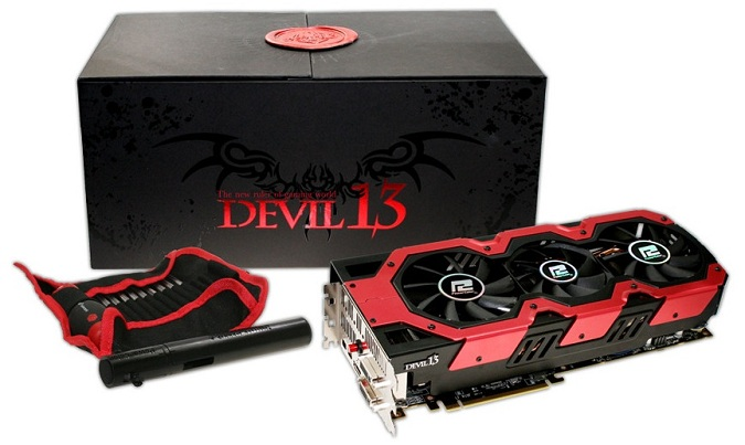 Card màn hình PowerColor AMD Radeon HD 7990 Devil13