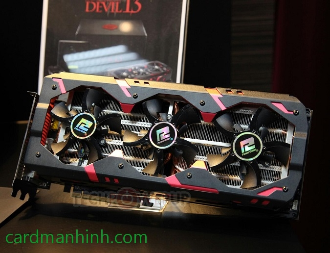 Vài hình ảnh card màn hình PowerColor Radeon R9 295X2 Devil13