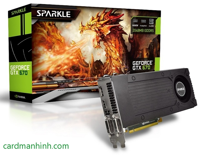 Sparkle GeForce GTX 670