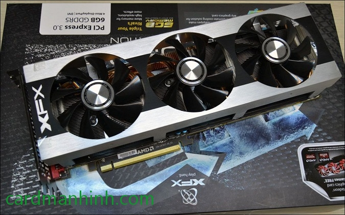 Card màn hình XFX Radeon HD 7990 Triple Dissipation