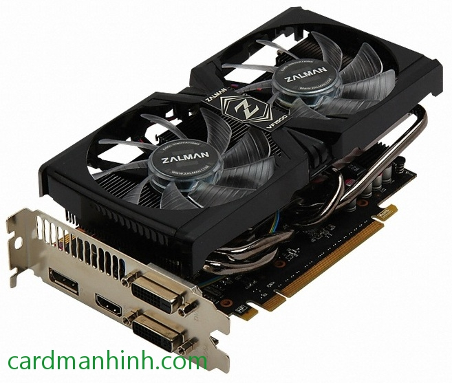 Card màn hình Zalman GeForce GTX 660 DS 2GB VF1500