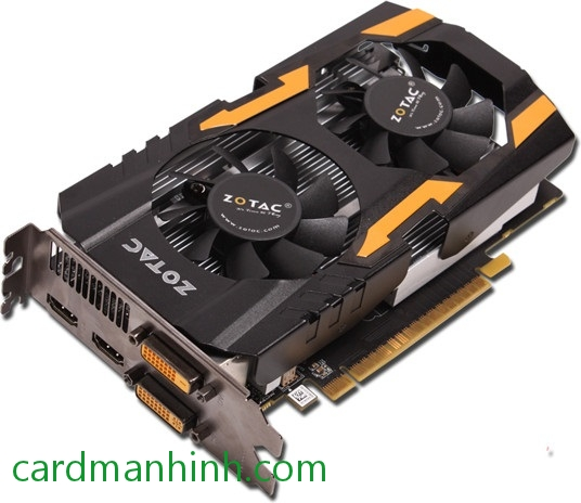 Card màn hình Zotac GeForce GTX 650 Ti Destroyer TSI