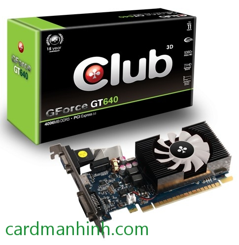 Card màn hình Club3D NVIDIA GeForce GT 640 4GB