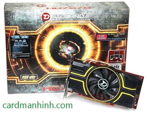 Card màn hình Dataland AMD Radeon HD 7870 2GB GHz Edition