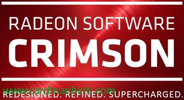Driver card màn hình AMD Crimson Edition 16.7.2 Beta