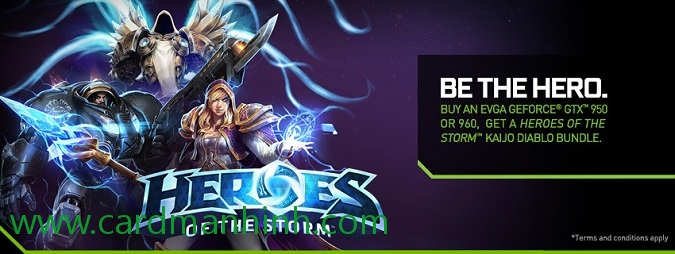 EVGA khuyến mãi game Heroes of the Storm Kaijo Diablo