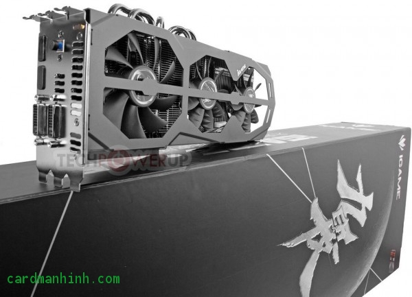 GeForce GTX 680 iGame Kudan đến từ Colorful