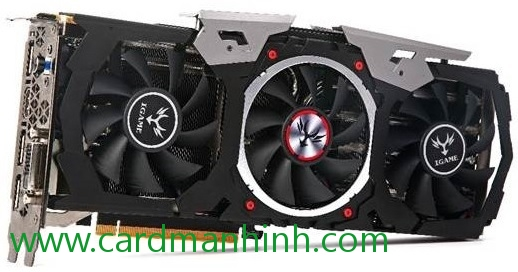 Card màn hình Colorful GeForce GTX 1070 U-TOP-8G