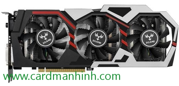 Card màn hình Colorful GeForce GTX 1070 X-TOP-8G