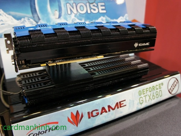 Card màn hình GeForce Colorful GTX 680 iGame