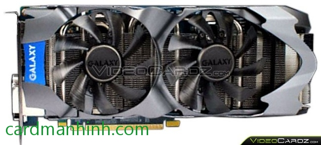 Card màn hình Galaxy GeForce GTX 660Ti 2GB GC