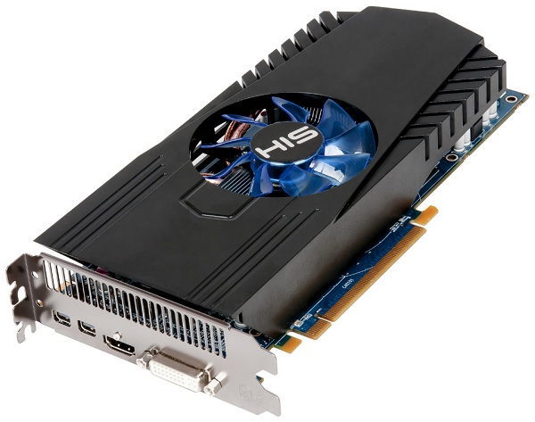 Card màn hình HIS 7870 Fan 2 GB